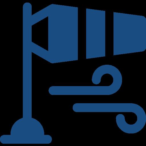 icona con banderuola del vento